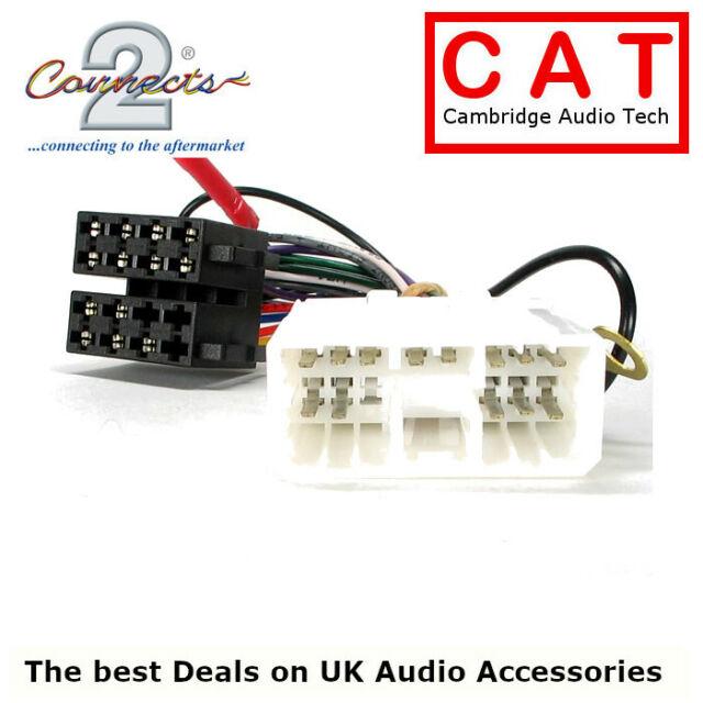 jaguar xj6 1981-1994 iso harness adaptor lead cable autoleads stereo radio  for sale online | ebay  ebay