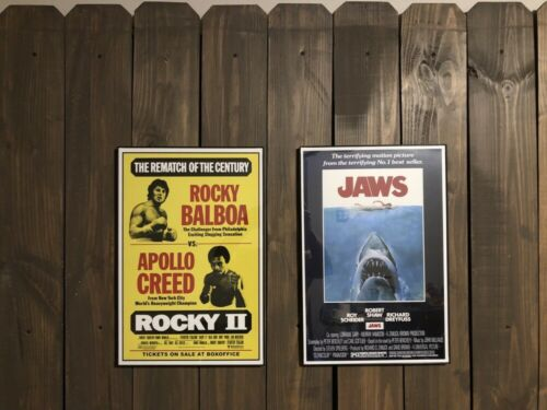 B2G1 FREE!! ROCKY II CLASSIC MOVIE POSTER 4 DIFFERENT SIZES