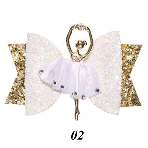 Accessories Sequins Hair Clips Glitter Bow  Girl Headwear  Bowknot Hairpin