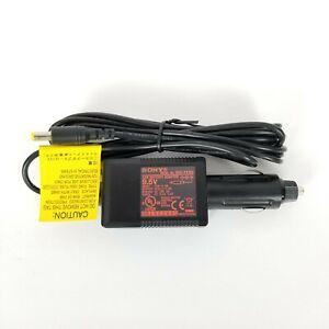 Genuine  Original Sony DCC-FX160 Car Charger DC Power Adapter 9.5V 1.2A