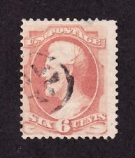 US 186 6c Lincoln Used appr w/ Crossroad in Circle Fancy Cancel SCV $25
