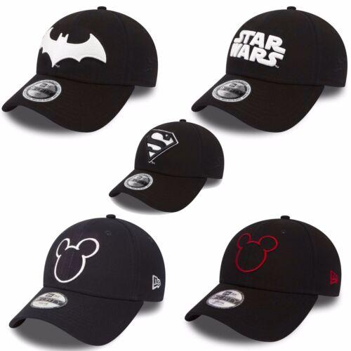 New Era 9forty Cap Children Young Cap Star Wars Mickey Mouse Batman Super