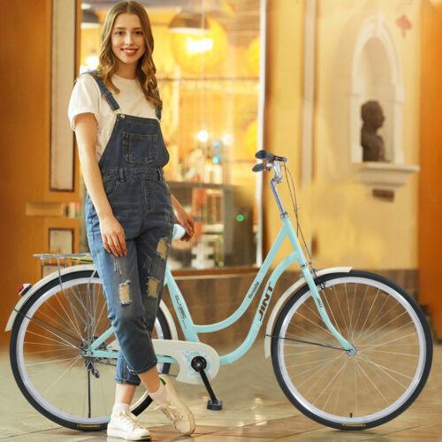 "26/"" Womens Classic Bikes Beach Cruiser Bike Retro Bicycle City Cycling Girl Gift"