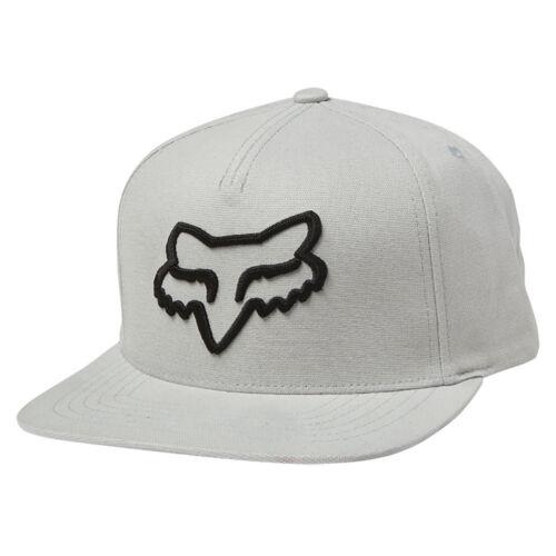 Fox NEW Men/'s Instill Snapback Cap Steel Grey BNWT