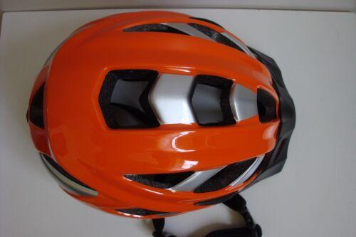 L arancione argento CASCO Bici Bicicletta ATALA TWENTY Mtb All Mountain Tg