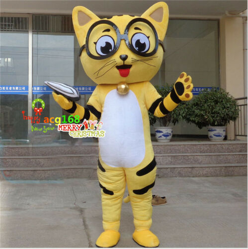 2018 Cat Mascot Costume Adult Fancy Dress Epe Cosplay Parade Outfit Party Suit