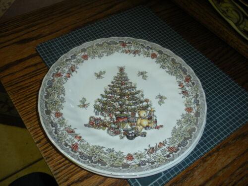 "s New Myott Queen/'s Season Greetings Christmas Tree 8/"" Plate"