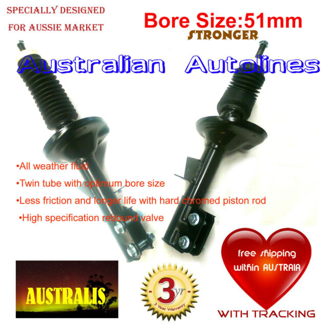 2 Struts Holden Commodore VY V8 Engine Wagon Front Shock Absorbers large wheel