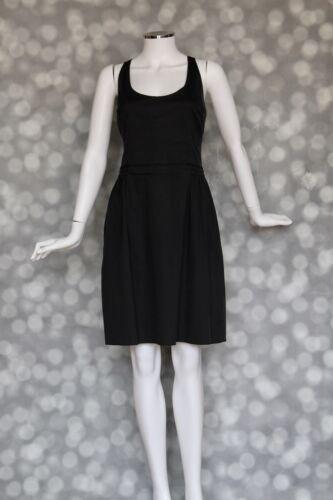 Prada Black Bustier Fit N Flare Dress - Sz IT46 /