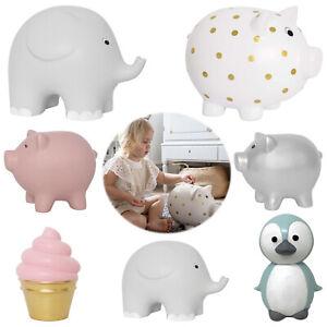 Jabadabado Spardose Money Box Elefant XXL Keramik grau