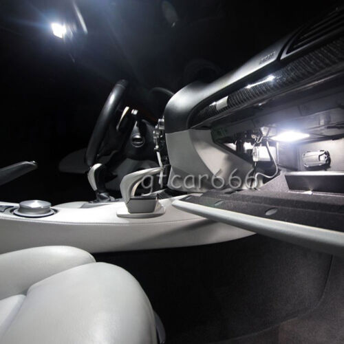 17x Xenon SMD White LED Interior Light Package Kit For BMW E46 Sedan Wagon Coupe