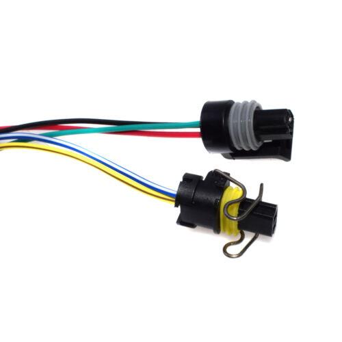 2PCS Pigtail Connectors of IPR /& ICP Sensor For Ford V8 7.3L Serie E F Ecolnine