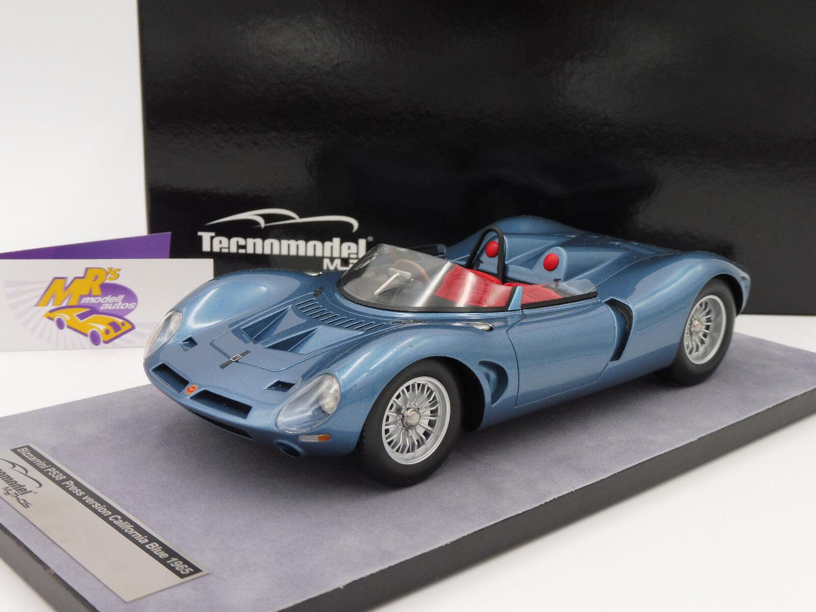 TECNOMODEL tm18-97d # BIZZARRINI p538 spyder Press Version Bj. 1965 bleu 1:18   Produits De Qualité    Nouveau Produit    Shop