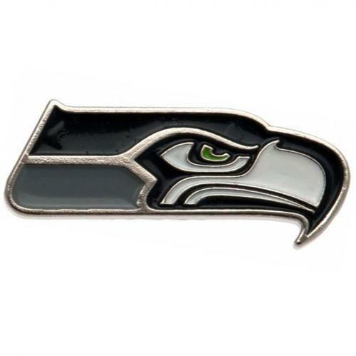 NFL Official Seattle Seahawks Metal Badge