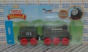 Thomas-Friends-Wood-Wooden-HIRO-Train-FULLY-PAINTED-Fisher-Price-GGG67-2019
