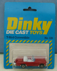 Dinky-Toys-Airfix-ownership-No-129-T-bird-Convertible-Mint-Packaged