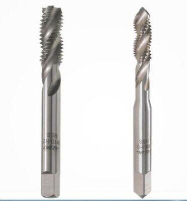 - H2 HSS Threading Tools 1pc Metric Right Spiral Flute Tap 3mm M3 x 0.5