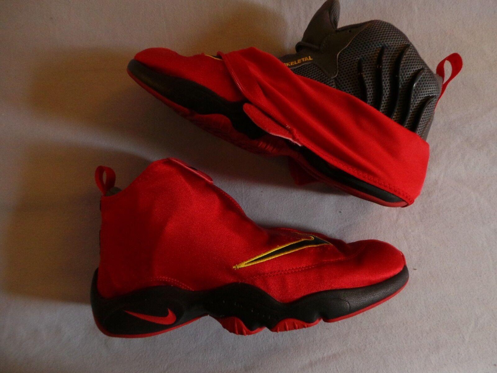 Nike guante Air Zoom Flight el guante Nike 98 Gary Payton GP VNDS Rojo Miami Heat 2f788e
