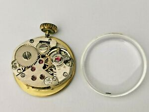 Tissot Cal 2180 Ladies Mechanical Watch Movement + Dial, Hands, Crown & Crystal