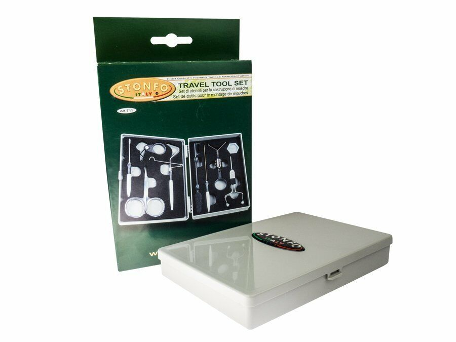 Stonfo Travel Tool Set 711 Fly tying tools Strong elegant case NEW 2019