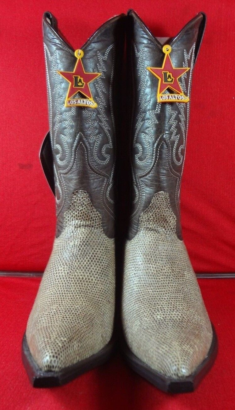 Exotische GENUINE ARMADILO West Cowboy laarzen (C58)