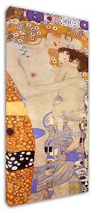 Quadro-Moderno-Arredamento-Klimt-Maternita-Arte-Arredo-Casa-Stampa-su-Tela