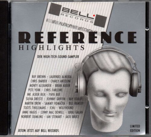 1 von 1 - Various – Reference Highlights - Bell Records - CD Album Bell 89 100