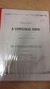 Bridge: Une Chanson De Noël: Musique (l5)-afficher Le Titre D'origine Avec Les éQuipements Et Les Techniques Les Plus Modernes