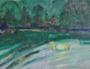 Franz-Beck-1893-1983-Stade-Impressionismus-Gemaelde-MONDLICHT-AUF-EINEM-SEE