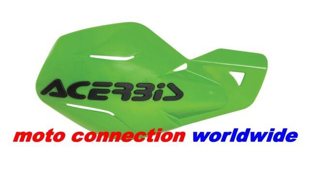 NEW ACERBIS UNIKO HANDGUARDS  GREEN FOR KAWASAKI KX85 KXF250 KXF450 2013
