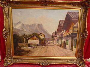Bello-Vecchio-Dipinto-Fruhlingsstrase-Garmisch-Sig-Schulte