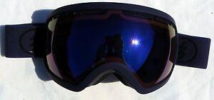 $170 Electric EG2.5 Mens Dark Purple Winter Goggles Blue Mirror uvex Spy Lens