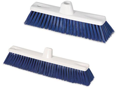 Hygienebesen Kunststoff Besen Hygienebedarf HACCP mit Adapter für HAUG-Stielen
