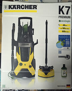 karcher k7 premium eco home 160bar pressure washer t400 t racer hose reel ebay. Black Bedroom Furniture Sets. Home Design Ideas