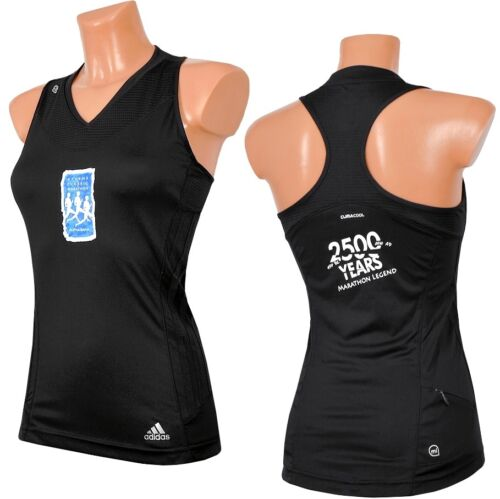 Damen Adidas Supernova Camiseta sin mangas rmelos Schwarz Marathon Boxer 3s Laufhirt R1w1E6