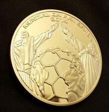 World Cup Gold Coin Brazil Stadium Goal Net Olympics 2016 Rio German Argentina