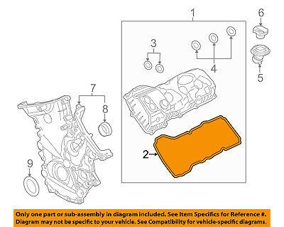 FORD OEM-Valve Cover Gasket 6F9Z6584BA
