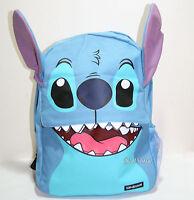 Disney Loungefly Lilo & Stitch Teeth Ears Backpack School Book Bag W/side Pocket