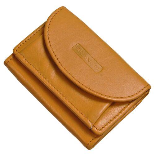 Branco Mini Geldbörse Leder Portemonnaie Geldbeutel Partybörse Minibörse 31105