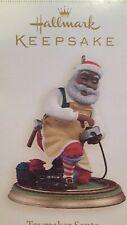 2006 Hallmark Toymaker Santa Ornament Claus Christmas RARE 7th African American