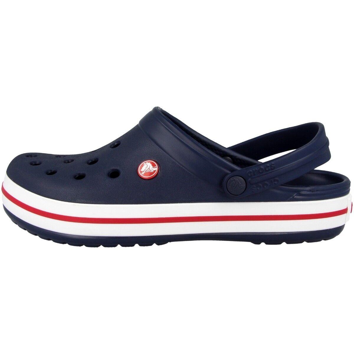 Crocs Crocband Clog Sandale navy 11016-410 Clogs Schuhe Badeschuhe 2.5 Classic