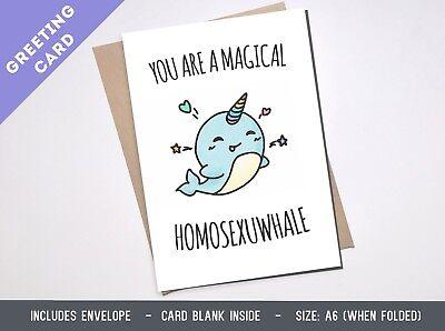 LOVE GREETING CARD cute friend pun funny boyfriend fruit food one melon Birthday