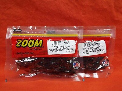 "Zoom Trick 6/"" Lizard Scuppernong 9 Pack"