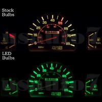 Dash Instrument Cluster Gauge Green Led Lights Kit Fit 79-88 Toyota Pickup Truck