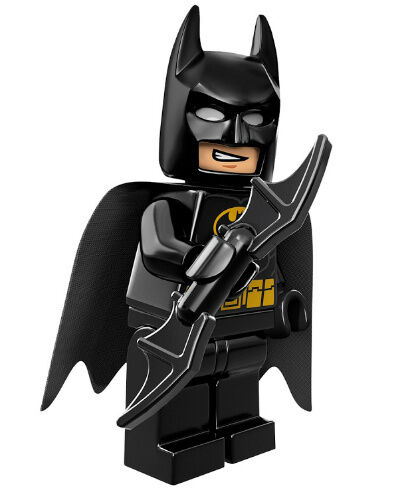 NEW LEGO BATMAN MINIFIG black figure minifigure dark knight 6863 6864 76013