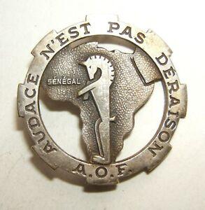 INSIGNE 12° REGIMENT DE CHASSEURS D'AFRIQUE A.O.F. - 12° R.C.A. - Drago