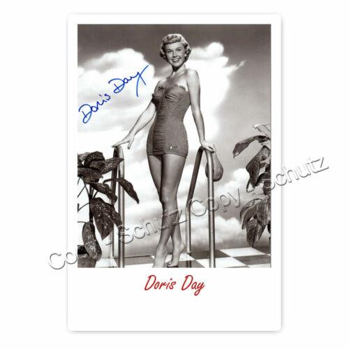 Autogrammfotokarte laminiert Doris Day AK7 1922–2019  ✟