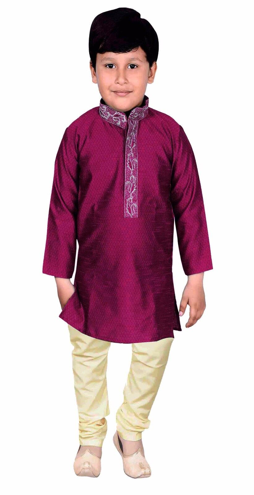 Boys Indian kids sherwani Kurta with pajama for wedding & Bollywood theme 925 UK