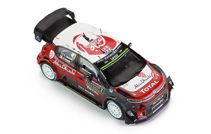 IXO 1 43 43 43 MODELLINO CITROEN C3 WRC RALLY MONTE CARLO 2017 MEEKE NAGLE NEW RAM638 5bde3b
