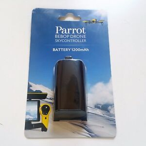 Details about Parrot Bebop Drone and Skycontroller Battery 1200mAh Black  Brand New!